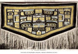 Chilkat blanket in the Museum of Natural History, New York, n.d.