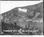 Dawson panorama on the Yukon River, July 1902 (Part 1 of 4)