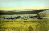 Threshing operation near Moscow, Idaho, ca 1910