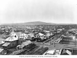 Bird's-eye view of Fairbanks, ca. 1921