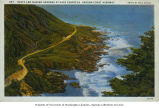 Cape Perpetua, Oregon Coast Highway, Yachats, Oregon, ca. 1937