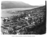Bird's-eye view of Juneau and harbor, n.d.