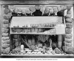 Sponge fishing exhibit in the Government Building, Lewis and Clark Exposition, Portland, Oregon,...