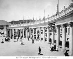 Colonnade entrance to the Lewis and Clark Exposition, Portland, Oregon, 1905