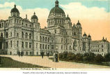 Parliament Buildings, Victoria, British Columbia, ca. 1910