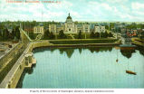 Parliament buildings from the Inner Harbor, Victoria, British Columbia, ca. 1906