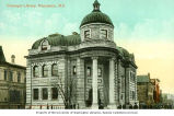 Carnegie Library in Vancouver, British Columbia, ca. 1907