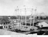"Amusement ride on ""The Trail,"" Lewis and Clark Exposition, Portland, Oregon, 1905"