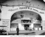 "Jabour's Trained Wild Animal Arena on ""The Trail,"" Lewis and Clark Exposition, Portland,..."