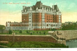 Canadian Pacific Railway's Empress Hotel, Victoria, British Columbia, ca. 1908