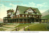 Canadian Pacific Railway's Kootenay Lake Hotel at Balfour, British Columbia, ca. 1911