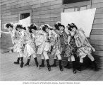 "Women dancers from Kiralfy's Carnival of Venice, ""The Trail,"" Lewis and Clark..."