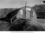 U.S. Army or Navy recreation hall at Captain's Bay, Dutch Harbor, ca. 1943