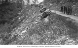 Automobile on side of road near the Bear Creek Bridge, mile 17.5 of Richardson Highway near...