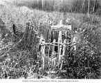Grave of Willie Stott near Dawson, Yukon Territory, 1899