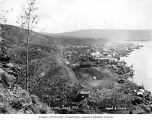 Bird's-eye view of Dawson, June 1901