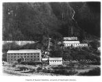 Alaska Juneau Gold Mine Company's mill at Juneau, May 14, 1915
