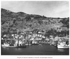 Boats and harbor at Kodiak, n.d.
