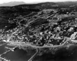 Aerial view of Kodiak, Alaska, ca. 1960