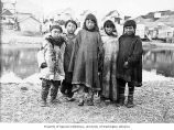 Eskimo children, Nome, ca. 1906