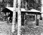 Canyon City Shelter on the Chilkoot Trail, Alaska, ca. 1967-1979