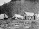Mineral Creek Roadhouse, Alaska, circa 1906