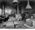 Miners and Merchants Bank assay office interior, Nome, ca. 1906