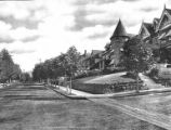 Residential street in Portland, Oregon, ca. 1905-1916