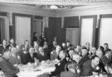 Members of the Libby Salmon Division attending a banquet, ca. 1920s