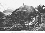 Sluices at Cheechako Hill mine, May 11, 1901
