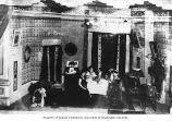 Actors on stage for play production, Dawson, n.d.