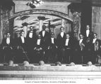 Orchestra members for play production, Dawson, n.d.