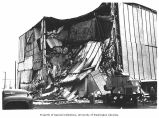 Earthquake damage to J. C. Penny building, Anchorage, 1964