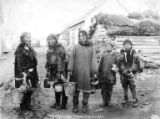 Eskimo berry pickers, Nome, ca. 1902