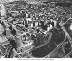 Aerial view of Edmonton, 1967