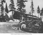 Lodge at the top of Grouse Mountain, near Vancouver, n.d.