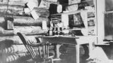 Interior of office, Conrad Mines, Yukon Territory, circa 1903-1906