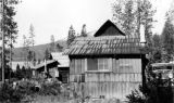 Cabin on Diamond Lake, Oregon, 1935