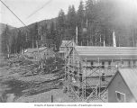 Buildings and building construction at Coppermount, Prince of Wales Island, ca. 1903