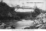 Bridge built across Bulkley River near New Hazelton, n.d.