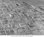 Aerial view of Anchorage, ca. 1960
