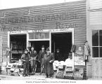Brown and Blakeslee General Merchandise storefront, Nome, n.d.