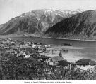 Douglas showing Juneau in background across the Gastineau Channel, Alaska, n.d.