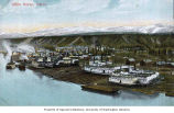 Whitehorse waterfront and shipyard, Yukon River, ca. 1907