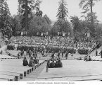 Children's Chorus rehearsal, Alaska-Yukon-Pacific-Exposition, Seattle, Washington, 1909