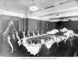 Dissolution Banquet for the A.Y.P.E. Corporation, Alaska-Yukon-Pacific-Exposition, Seattle,...