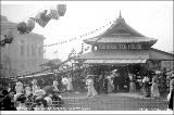 Formosa Tea House, Seattle Day, Alaska Yukon Pacific Exposition, Seattle, August 14, 1909.