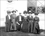 Montana Contest delegation, Alaska Yukon Pacific Exposition, Seattle, 1909.