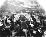 Aerial view of the  Alaska-Yukon-Pacific Exposition,  1909