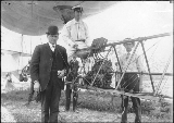 J.C. Mars, pilot of the dirigible balloon, Alaska Yukon Pacific Exposiition, Seattle, Washington,...